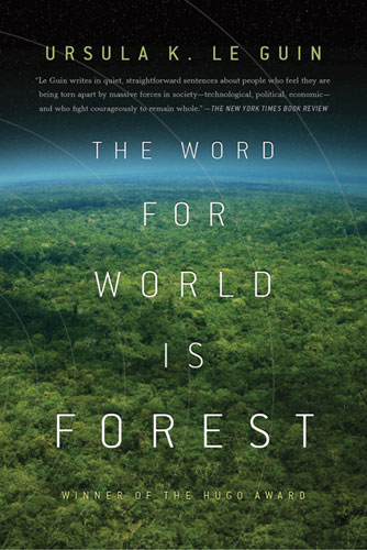 The word for world is forest Book Cover