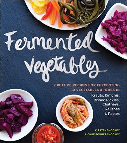Fermented Vegetables Book Cover