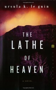 The lathe of heaven Book Cover