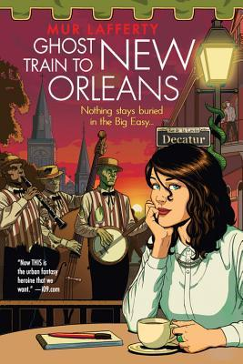 Ghost train to New Orleans Book Cover