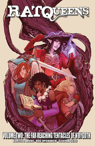 Rat Queens vol.2: The far-reaching tentacles of N'Rygoth Book Cover