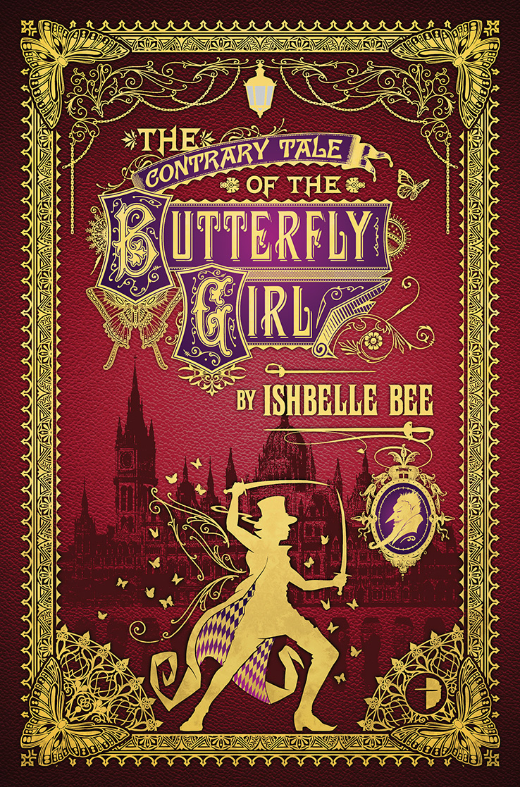The contrary tale of the butterfly girl Book Cover