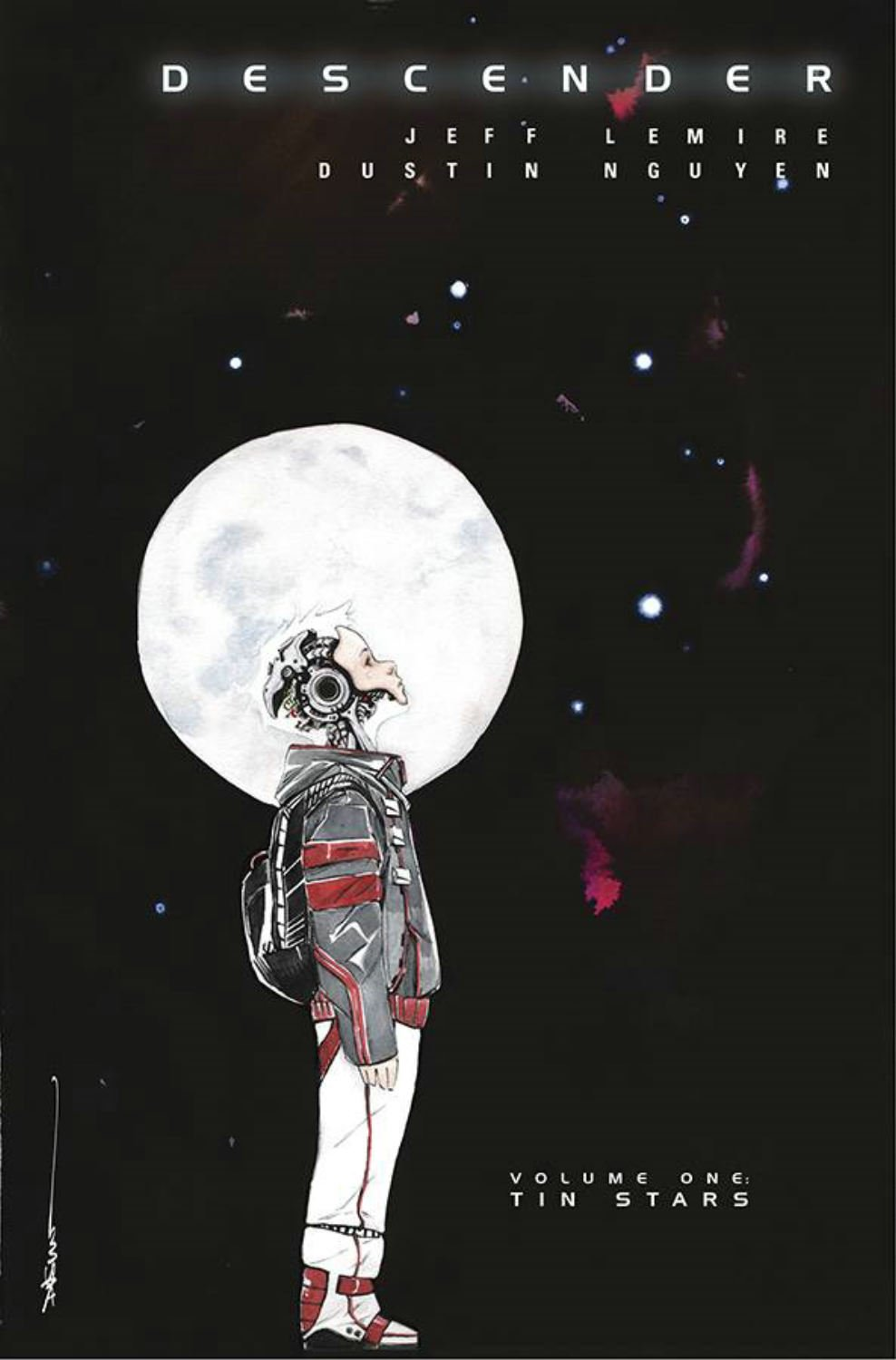 Descender vol.1: Tin stars Book Cover