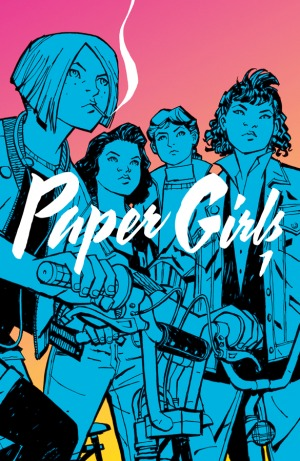 Paper Girls vol. 1 Book Cover